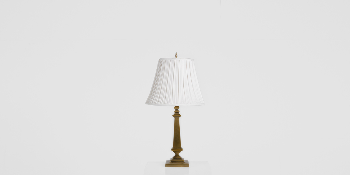 "22""h Brass Table Lamp LGT011093"