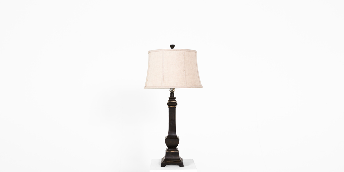 "31""h Espresso Table Lamp LGT011845"