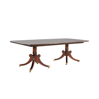 "96""w x 46""d Mahogany Chippendale Table TBL013289"