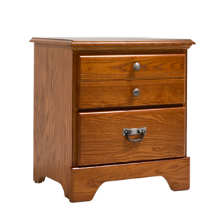 "21.5""w x 16""d Medium Oak Nightstand TBL013308"