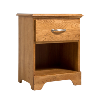 "21.5""w x 16""d Oak Nightstand TBL013324"