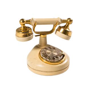 "8.5""w Antique Telephone ACC000027"