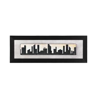 "56""w x 20""h Cityscape Art ART011275"