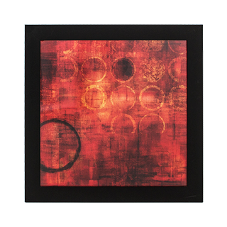 "33""w x 33""h Abstract Art ART011370"