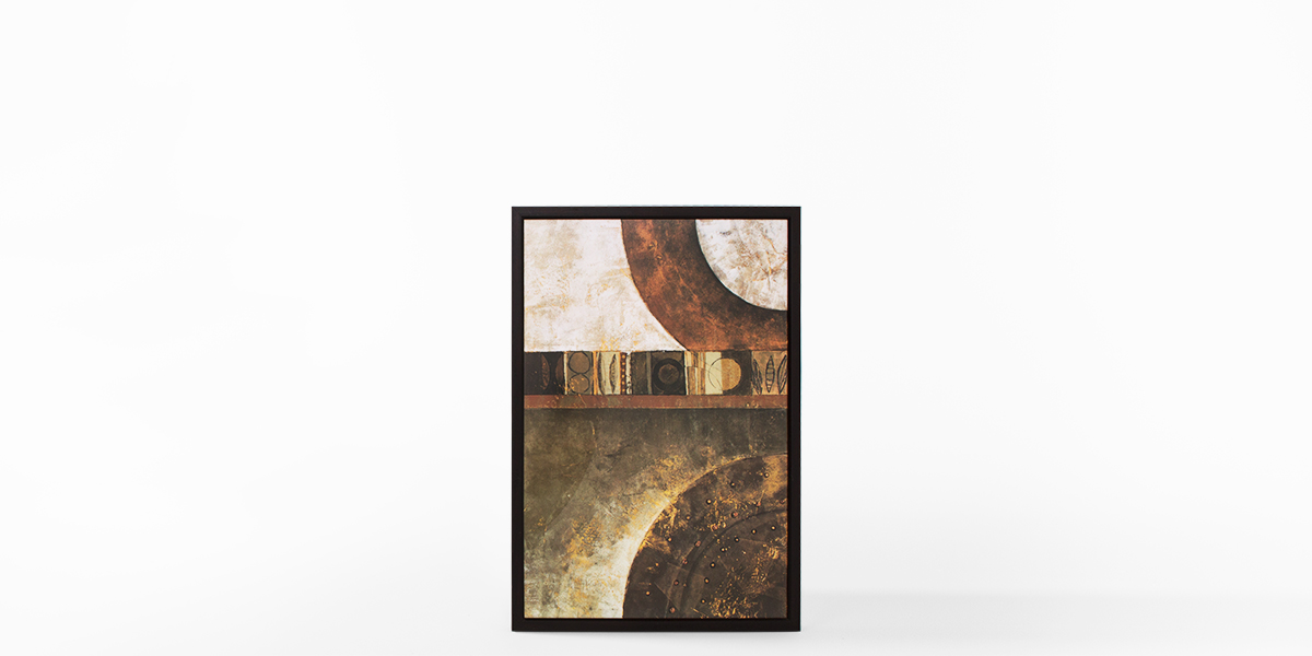 "26""w x 38""h Abstract Art ART011521"