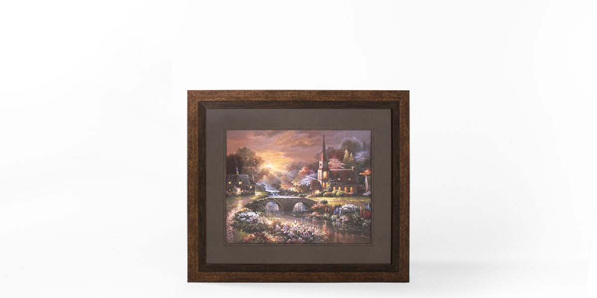 "36.5""w x 42.5""h Landscape Art ART011904"