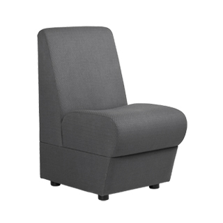 Grey Module Sectional Chair CHR000465