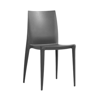 Charcoal Bellini Stack Chair CHR000535