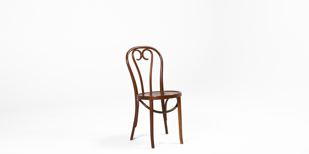 Walnut Bentwood Cafe Chair CHR000578