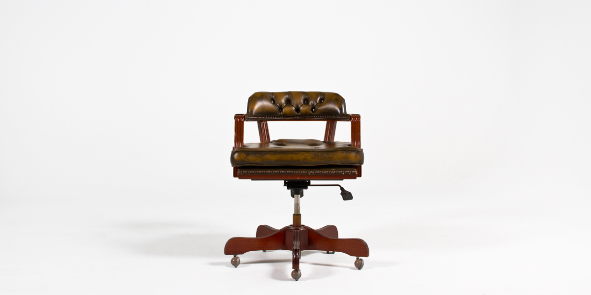 Antique Cherry Mid-Back Office Chair CHR000653