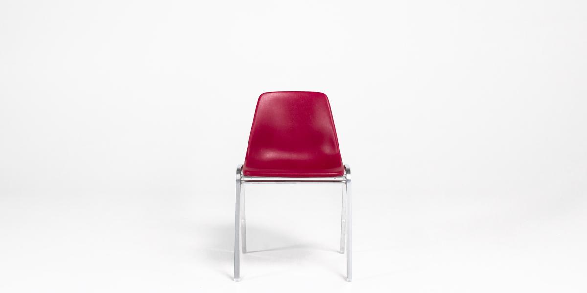 Burgundy Stacking Chair CHR003541