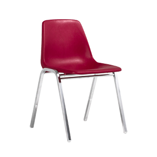 Burgundy Stacking Chair CHR003541