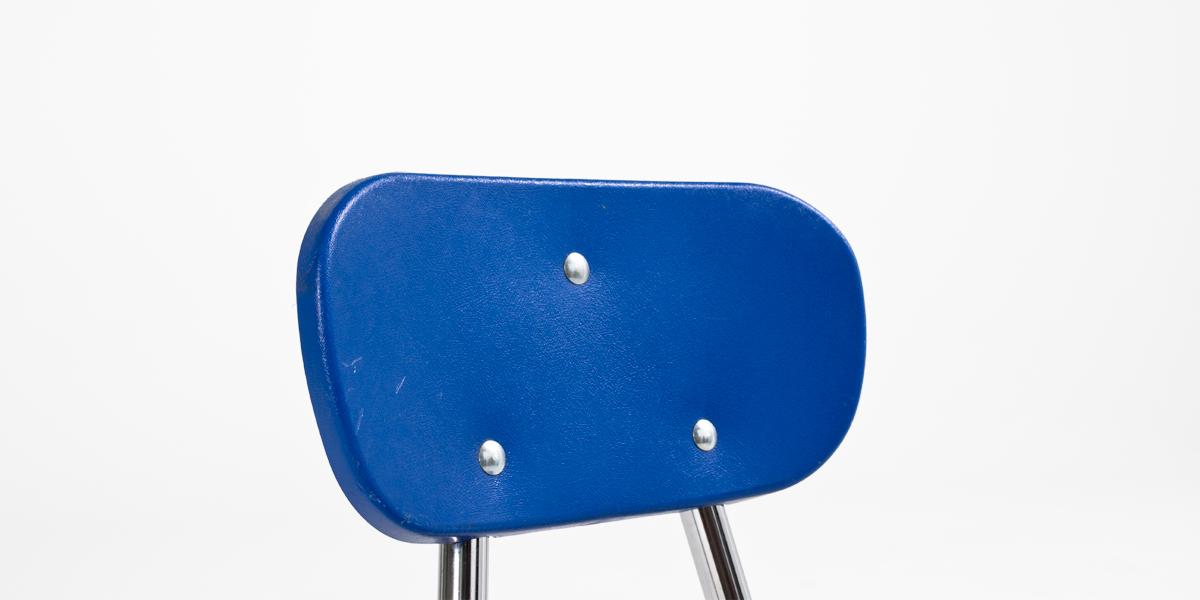 Blue Children's Stack Chair CHR006515