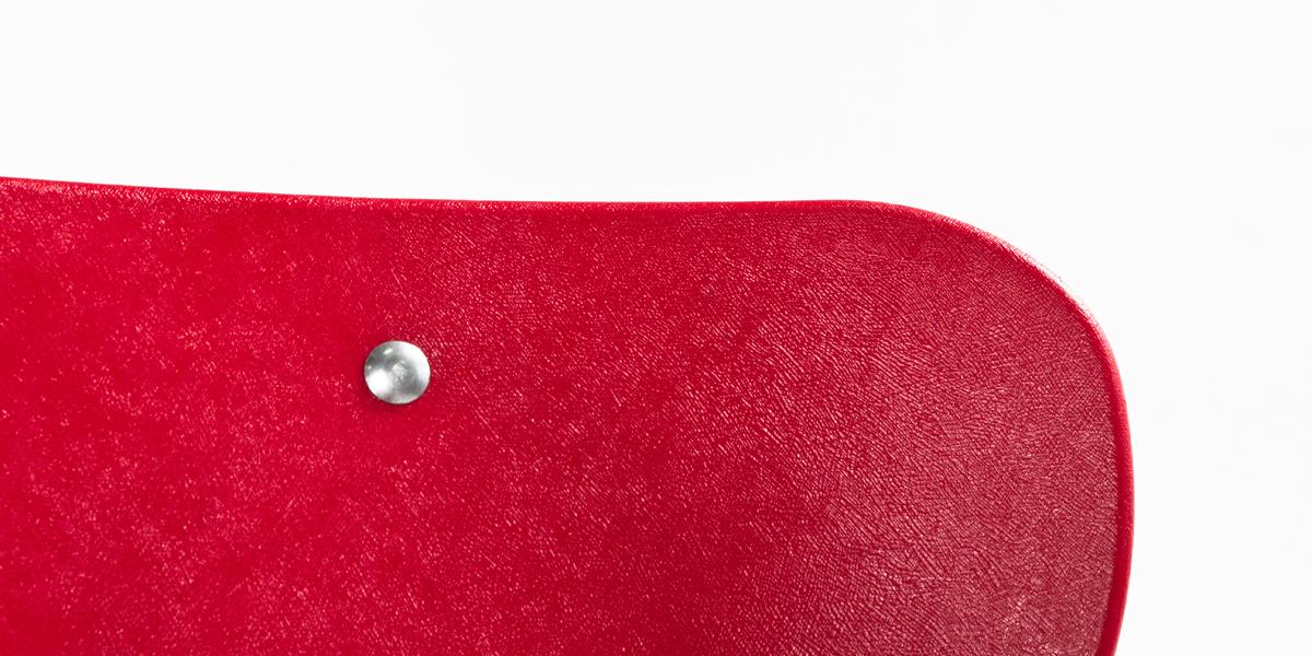 Red Children's Stack Chair CHR006516