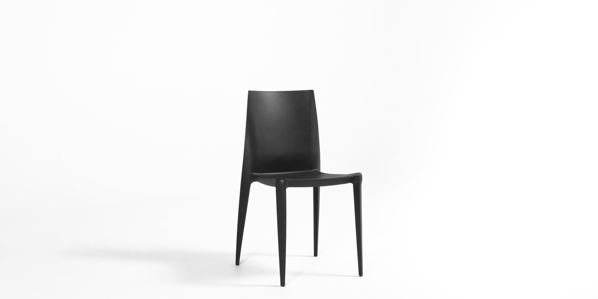 Black Bellini Stack Chair CHR008895