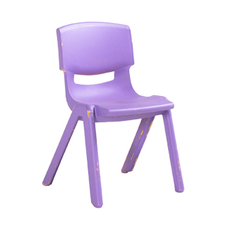 Lavender Resin Children's Stack Chair CHR013092