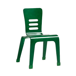 Dark Green Children's Stack Chair CHR013094