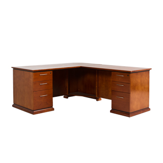 "66""w x 30""d Medium Cherry Desk DSK012022"