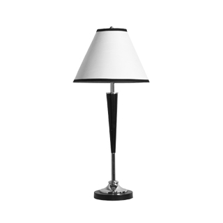 "30""h Brushed Steel Table Lamp LGT011118"