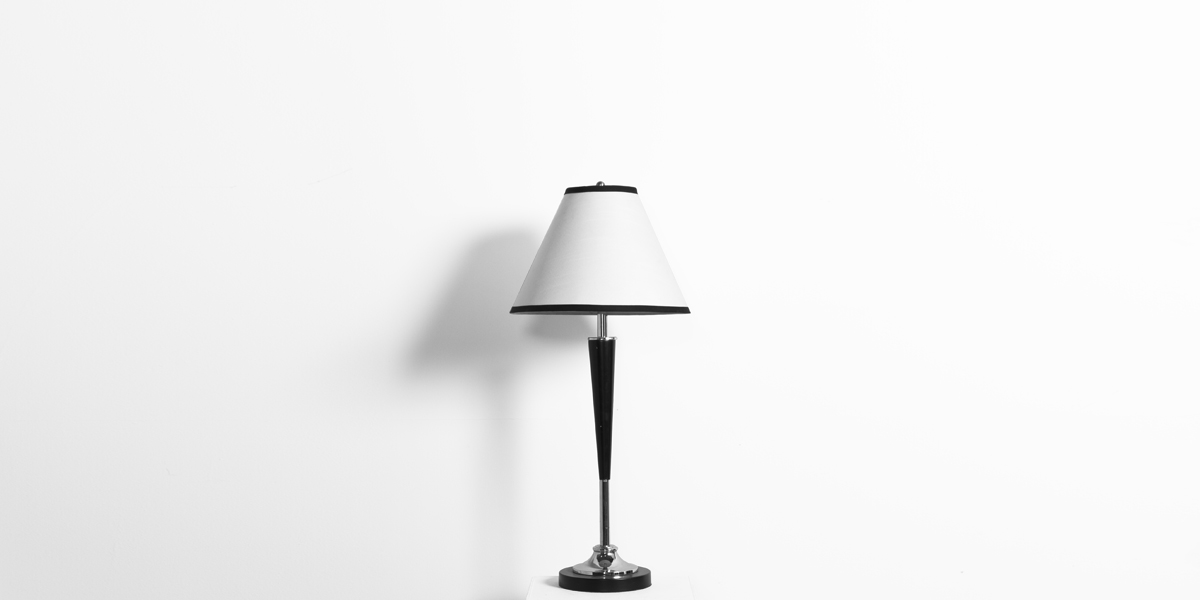 """30""""h Brushed Steel Table Lamp LGT011118"""