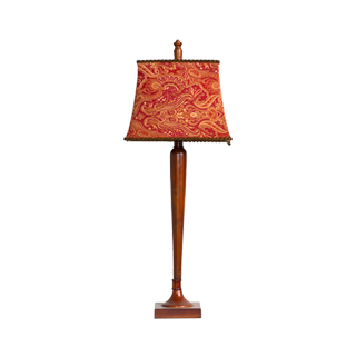 "35""h Cherry Table Lamp LGT011307"