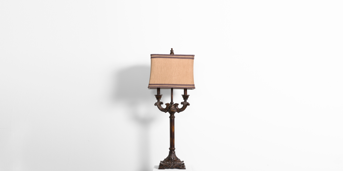 "36""h Bronze Metal Table Lamp LGT011309"