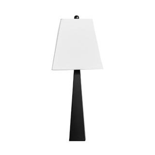 "29""h Tin Obelisk Table Lamp LGT012356"