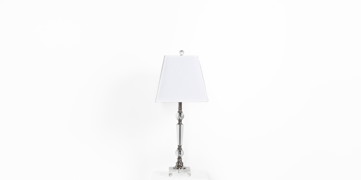"28""h Crystal Table Lamp LGT012361"