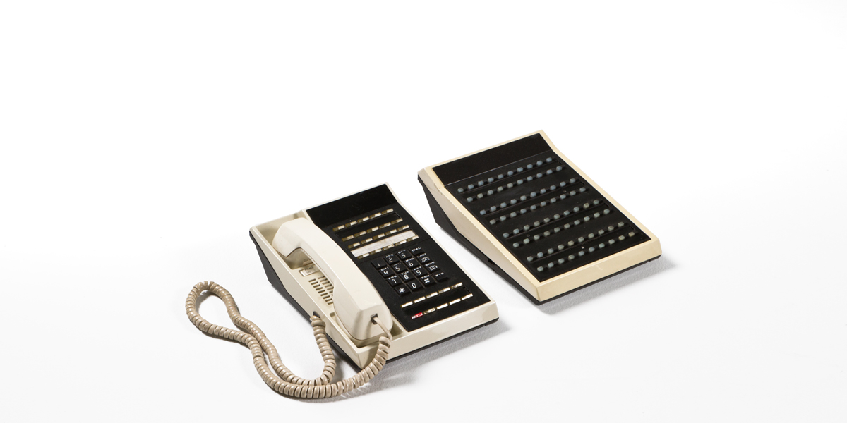 Black Telephone Console MIS010789