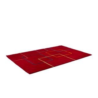 5' x 8' Dark Red Carpet MIS010966