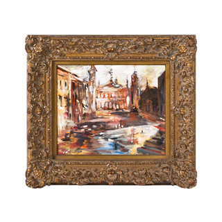 "36""w x 32""h Cityscape Art ART006145"