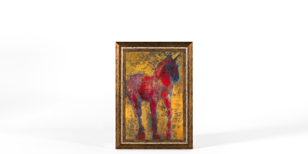 "31""w x 42.5""h Animal Art ART009494"