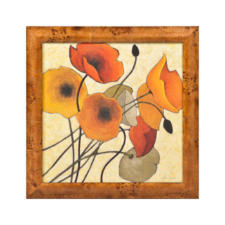 "21.75""w x 21.75""h Floral Art ART010532"