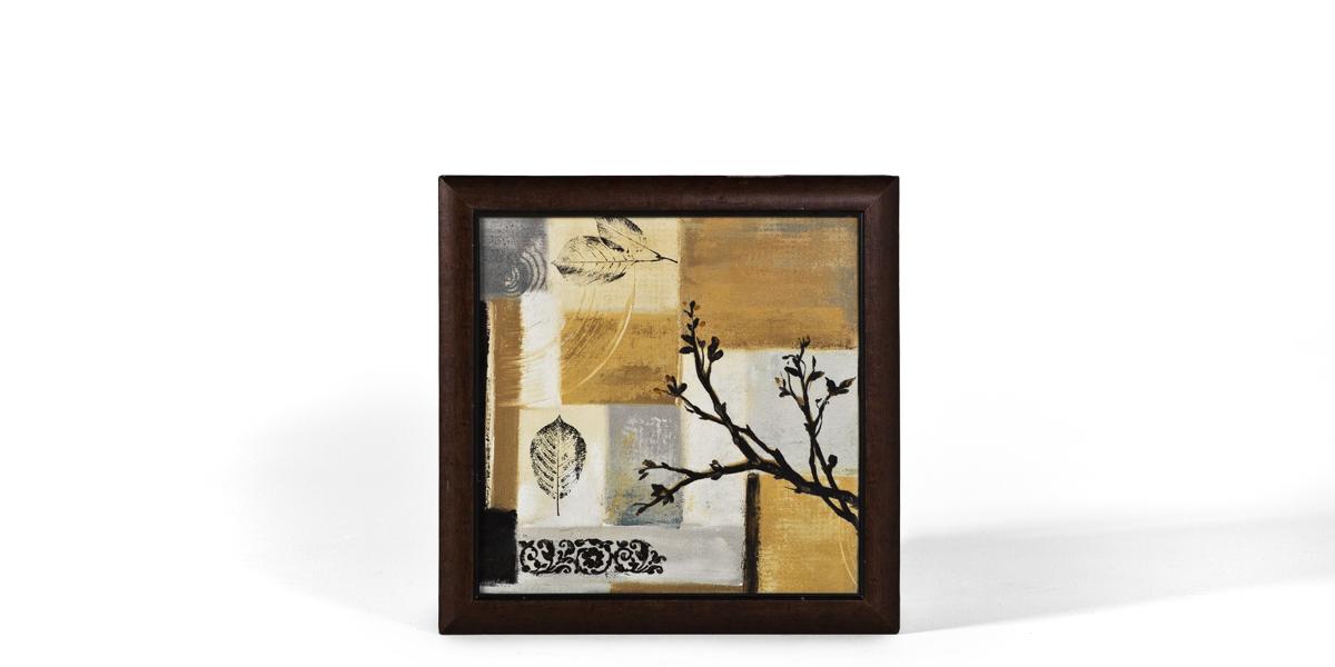 "24.25""w x 24.25""d Floral Art ART010576"