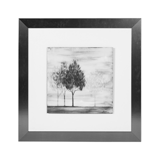 "37.5""w x 37.5""h Black + White Art ART011108"