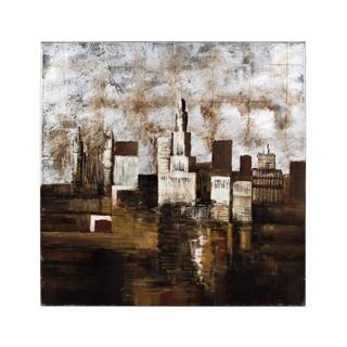 "40""w x 41""h Cityscape Art ART011380"