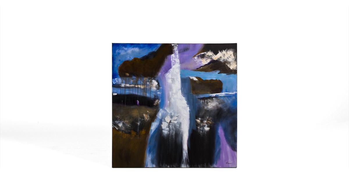 """50""""w x 50""""h Abstract Art ART011877"""
