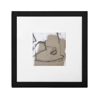 "23""w x 23""h Black + White Art ART012289"