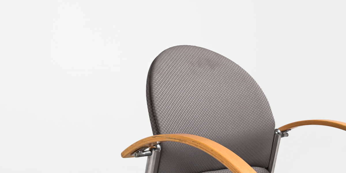Grey Fabric Guest Chair CHR001010