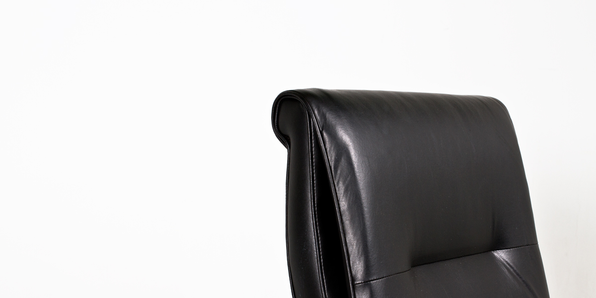 Black Leather Executive Office Chair CHR004129
