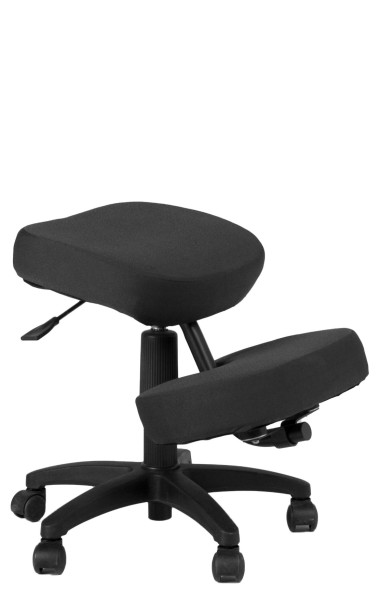 Black Memory Foam Kneeling Task Chair CHR012419