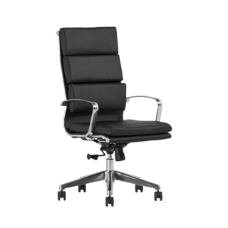 Black Leather Executive Hi-Back Office Chair CHR013375