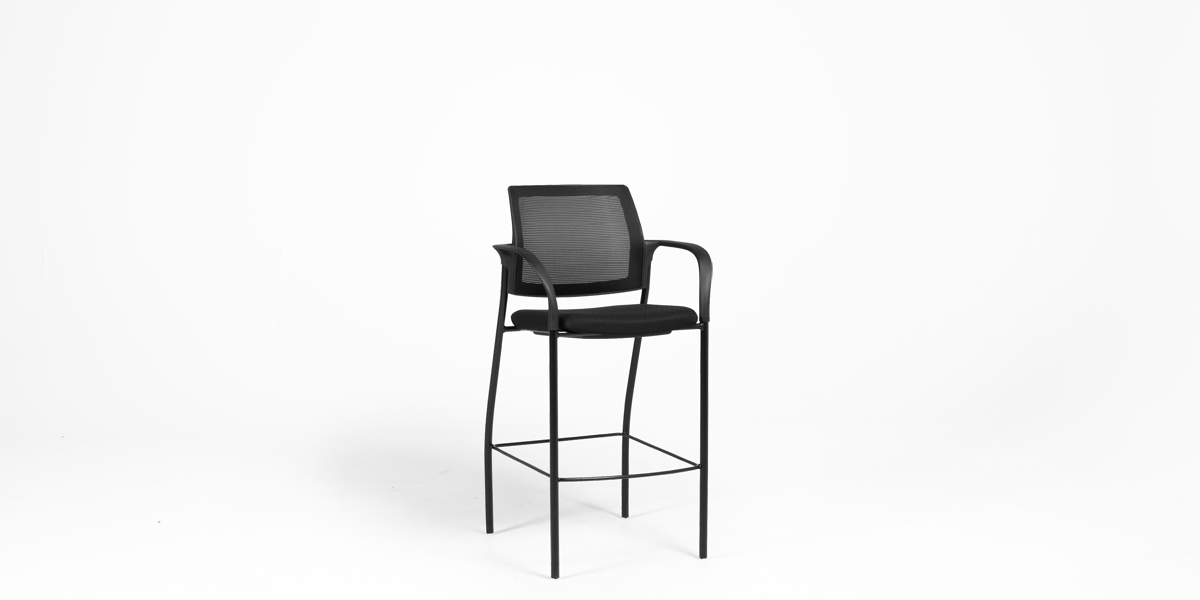 Black Bar Stool CHR013392