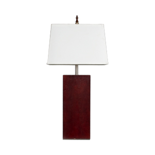 "30""h Dark Mahogany Table Lamp LGT011327"