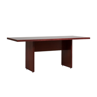 "72""w x 30""d Mahogany Veneer Conference Table TBL013386"