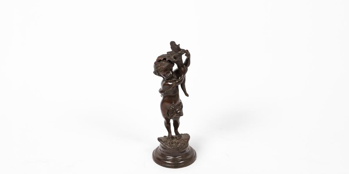 """15""""h Bronze Statue ACC000636"""