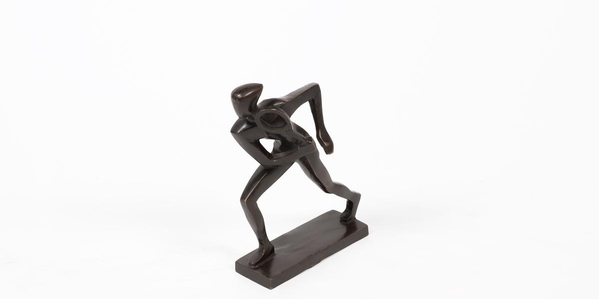 """12.75""""h Bronze Statue ACC000793"""