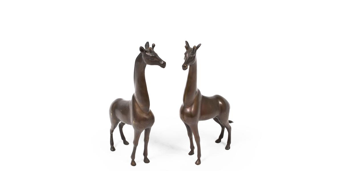 """18""""h Bronze Statue ACC000826"""