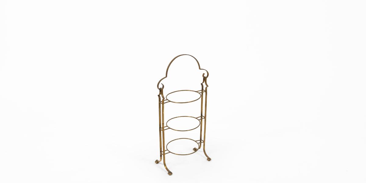 """23""""h Brass Dessert Stand ACC001359"""