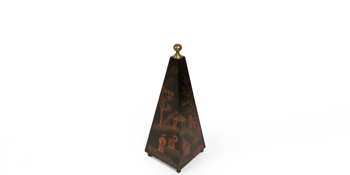 """20""""h Black Obelisk ACC001423"""